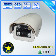 Hot Product 960H 1.3MP Car License Plate Recognition LPR Camera for Entrance Parking Lot Gas Station Security System