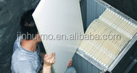 flat sheet membrane for residential waste water treatment system