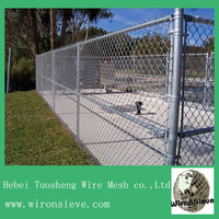 2014hot sale Chain link mesh fence competitive price