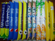 PE clap cheering inflatable balloon stick