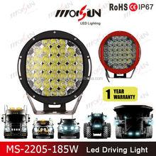 """China wholesale 9"""" 185w led spot light, 185w led driving light, 185w led off road light"""