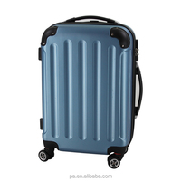 ABS 4 spinner wheels travel luggage suitcase ,ABS trolley case