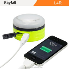 USB rechargeable OEM ODM waterproof led hand crank camping lantern