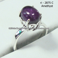 natural stone rings 925 sterling silver jewelry wholesale india