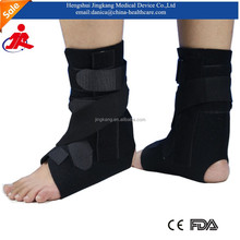 CE certified neoprene orthopedic ankle fracture support / Enhance velcro ankle brace / adjustable ankle support for sports