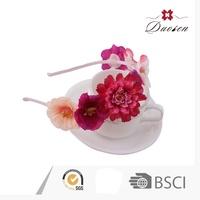 2015 Top Sale Custom Handiwork Girl Women Flower Hair Accessories Fancy Hairbands