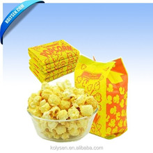 custom Kolysen Packaging Integration Co., Ltd. URL: www.kolysen.com Tel: 0086-592-8333630 Fax Greaseproof Paper Popcorn Bags