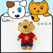 2015 new high quality plush animal toys ICTI audits manufacturer OEM/ODM custom bear boy gift