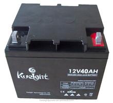Gel battery 12V 40AH solar battery charging regulator battery pack