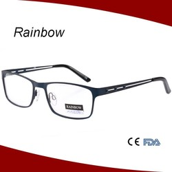 High quality metal design eyewear optical frames for men eyeglasses wholesale spectacle glasses MM15190