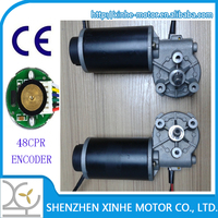 XH-D63 dia63mm worm gear 12v 24v dc wiper motor and automatic door motor and elevator door motor