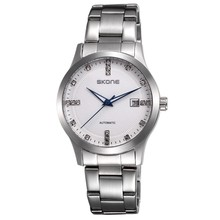 SKONE automatic watch 3atm water resistant stainless steel watch case