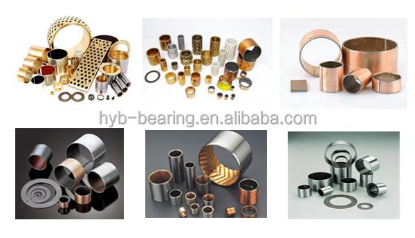 Self lubricant Oil free steel roller split DU Bush/bronze alloy copper sintered bimetal bush/Graphite brass bushings