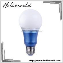 Alibaba.com CE approved blue color A67 E27 7w 9w led light bulb china supplier