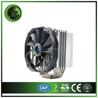 Side Blowing 220watts high performance CPU COOLER with 6 heat pipes