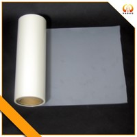 matte plastic film for inkjet printing with labels