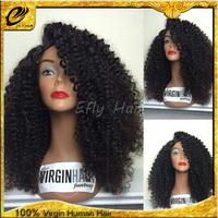 Wholesale New design virgin afro kinky human hair wig