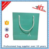 Plastic lined kraft paper bag, hs code paper bag rope handle