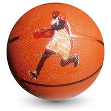 fashionable size 7 rubber basketball basketball game for students and adults