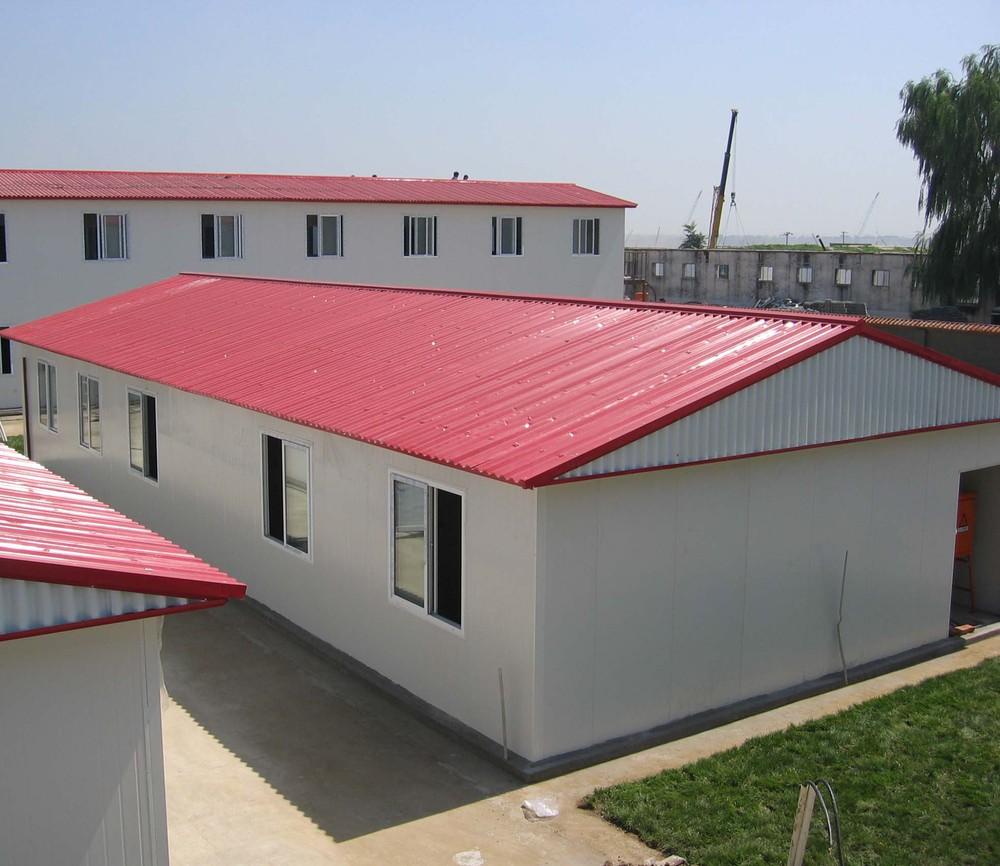 Hei er verkauf vorgefertigte container haus mit hoher for Prefabricated roofing systems