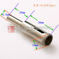 10mm DIAMOND HOLE SAW CORE DRILL GLASS TILE