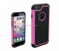 3 in 1 Silicone With PC Shockproof Case For iPhone 6 iPhone 6s