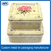 Square candy tin box ,square large candy tins,square metal candy tin box