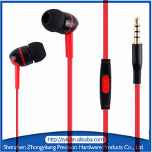3.5mm Factory OEM Best Plastic In Ear High Performance Headphones For Mobile mp3 mp4