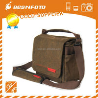 Besnfoto Best selling Canvas Big Size photo Messnager bag for camra and studio for outdoor