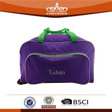 purple series trolley travel bag