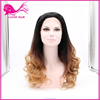 hot sale synthetic hair wig ombre kanekalon synthetic hair two colored synthetic braiding hair