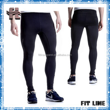 men's polyester/spandex fitness sports /running pants
