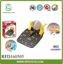 Plastic intellective bingo toys play set,funny bingo game toy,bingo gifts