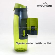 Fancy design cooling water sport running bottles / small plastic squeeze bottles / bpa free tritan sport bottle
