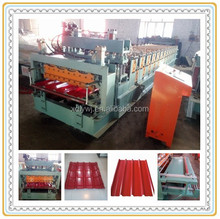 Colored Steel Metal Glazing Stamping Zinc Roof&Wall Panel Roller Former Machine