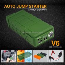 Army Boots Green Vinsun V6 Jump Starter, All Start Boost, Jump Starter USB Cable