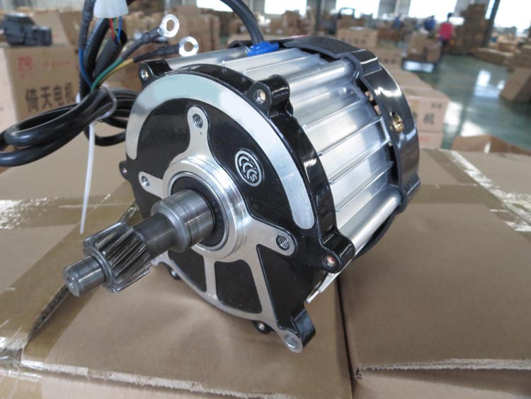 hollow shaft stepper dc motor for electric tricycle 48v 350w
