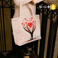 Cheap fashion custom color recyclable organic cotton bag