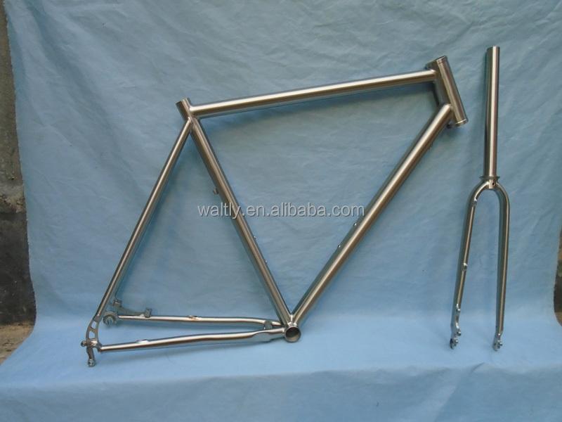Track Cycling Frame Titanium Road Bike Frame Painted - Buy Titanium ...
