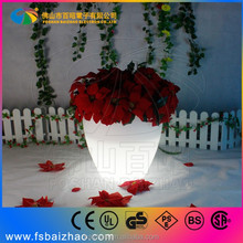 New design glowing flower flower pot led RGN GLOW Can be remote on and off