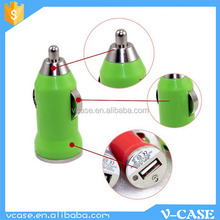 Top sale 5V usb car charger, 12v solar car battery charger for smartphone