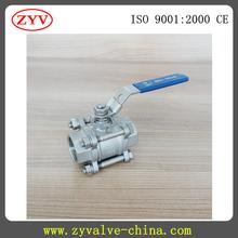 Alta de servicio envío servicio de acero inoxidable válvula de bola motorizada