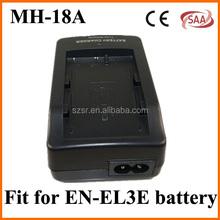 Factory Camera battery charger MH-18A for for Nikon EL3a,EL3e