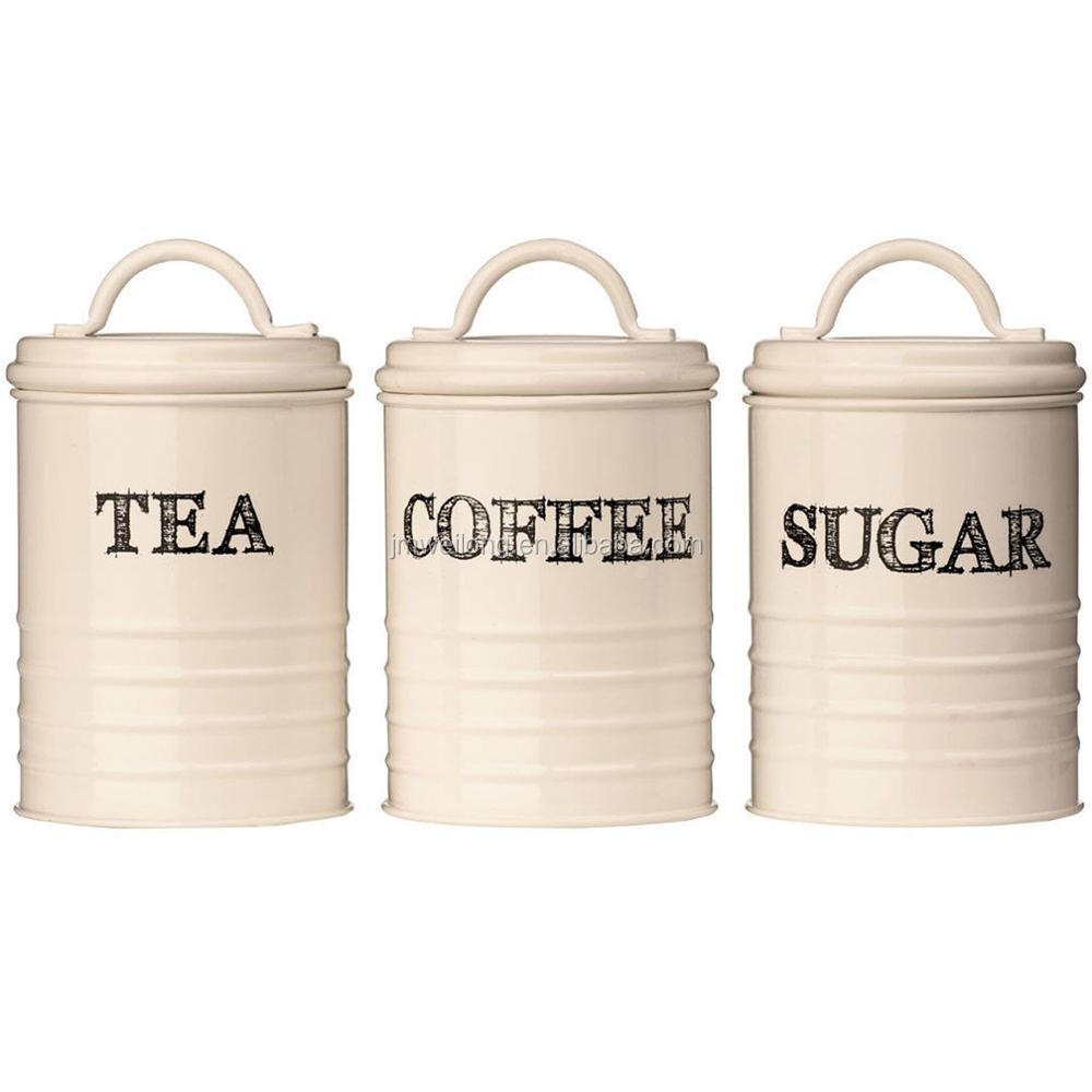 Cream Kitchen Storage Jars: Sketch Cream Kitchen Home Storage Jar