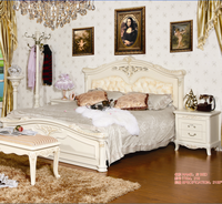 Solid wood carving bedroom furniture queen size sofa bed designs