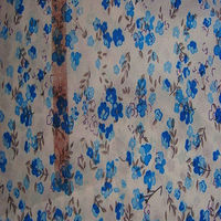 Poly Trilobal fabric with printed