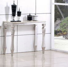 Marble top stainless steel buffet furniture