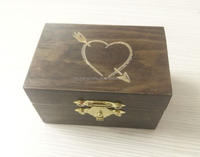 2015 new design custom christmas wooden box small wooden box