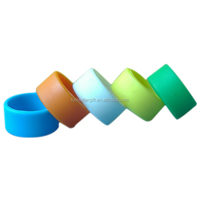 Colorful Plain Silicone Finger Ring