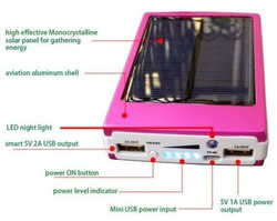 50000mah solar power charger for samsung solar power bank